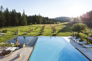 Das Kranzbach - Ausblick vom Badehaus